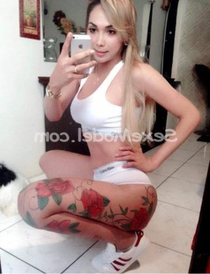 Makenzie escorte trans massage à Castelginest